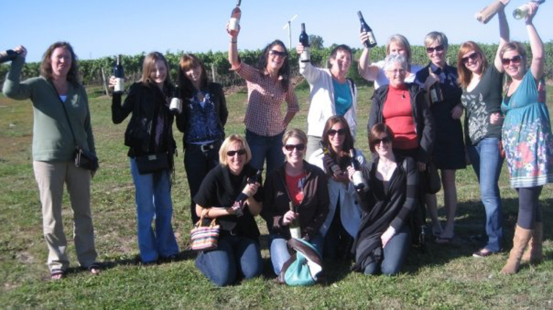 Wine tours 2009 group