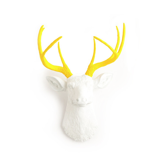 yellow antlers